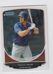 2013 Bowman Chrome Mini Travis Shaw Card